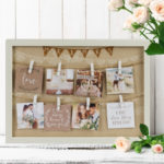 Love Story Peg Collage Frame – Mr & Mrs