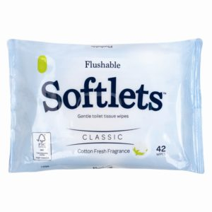 Toilet Tissue Wipes - 42 PackToilet Tissue Wipes - 42 Pack