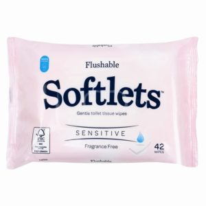 Sensitive Toilet Tissue Wipes - 42 PackSensitive Toilet Tissue Wipes - 42 Pack
