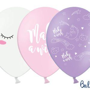 Balloons 30cm, Unicorn, mix (1 pkt