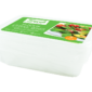 Food Storage Boxes 500ml 5 packThis pack of Food Storage Boxes contains five individual containers that are constructed of durable plastic and are freezer, microwave and dishwasher safe.  Each storage box has a 500ml capacity and is complete with a lid.  Suitable for all food types.