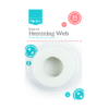 Hemming Web 25mThis Hemming Web provides a sew free, permanent solution for bonding fabrics together easily by simply ironing on the fabric.   Each roll of hemming web is 25 metres in length and can be used on most fabrics.