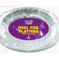 Oval Foil Serving Platters - 5 PackThis set of Oval Serving Platters are constructed from aluminium and are ideal for parties and buffets.  Each pack contains five serving platters.