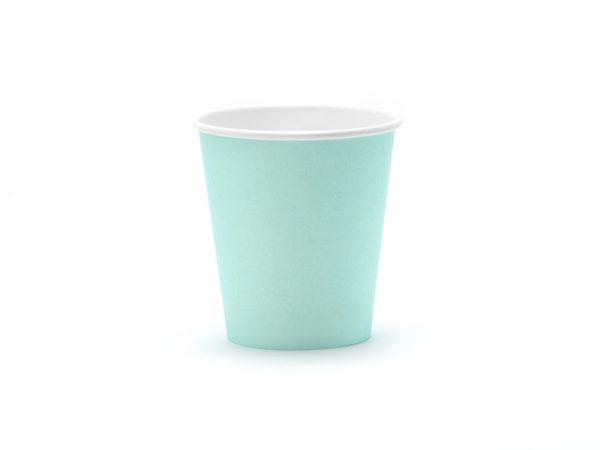Aloha Cups, turquoise, 180 ml (1 pkt