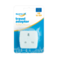 Travel Adapter UK To EUThis Travel Adapter is suitable for use when visiting European countries from the United Kingdom. Each adapter is 10AMP