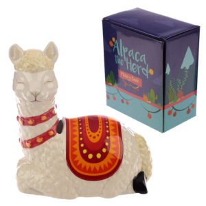 Collectable Ceramic Alpaca Shaped Money Box