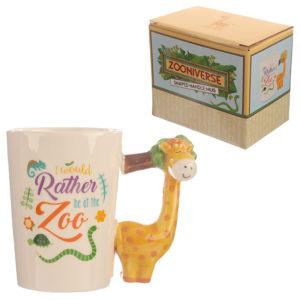 Collectable Shaped Handle Mug -  Giraffe