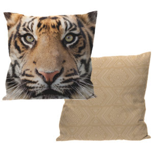 Cushion with Insert - Tiger Design