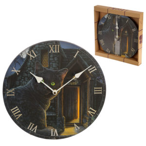 Decorative Fantasy What Lies Within Cat Wall Clock