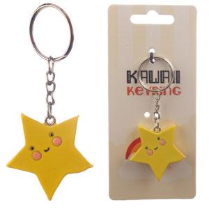 Fun Collectable Kawaii Star Keyring