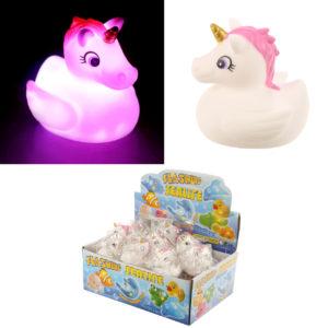 Fun Kids Light Up Unicorn Bath Time Toy