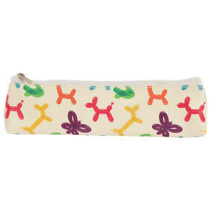 Fun Novelty Pencil Case - Balloon Animals Design