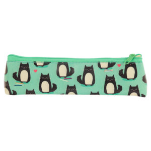Fun Novelty Pencil Case - Cat Design