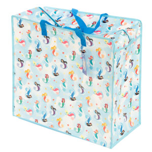 Fun Practical Laundry  and  Storage Bag - Mermaid