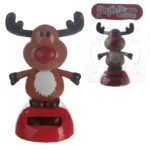 Collectable Christmas Reindeer Solar Powered Pal