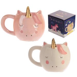 Cute Fantasy Unicorn Shaped Ceramic Mug