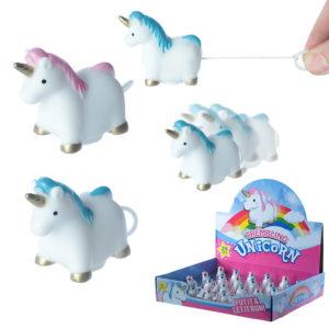 Fun Kids Pull and Shake Rainbow Unicorn