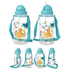 Fun Sealife Design 450ml Childrens Water Bottle