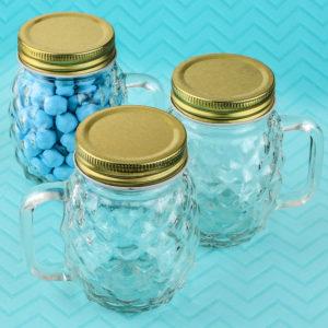Perfectly plain Collection Mini Pineapple glass mason jarPerfectly plain Collection Mini Pineapple glass mason jar
