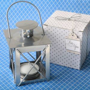 Classic lantern tealight candle holder from fashioncraftYour special occasion symbolizes a new step in your life. Light it up with beautiful silver lanterns and share the journey with friends and family.