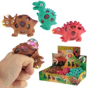Fun Kids Dinosaur Squeezy Mesh Ball