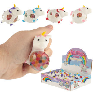 Fun Kids Unicorn Squeezy Mesh Ball