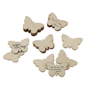 Set of 49 Guest Signing ButterfliesSet of 49 Guest Signing Butterflies