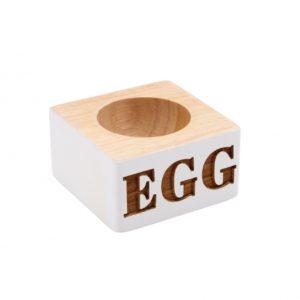 Loft White Single 'Egg' HolderLoft White Single 'Egg' Holder
