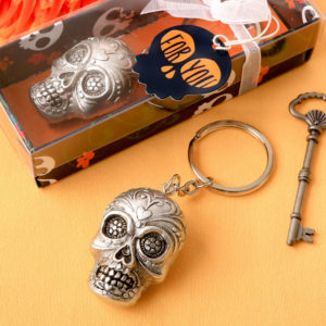 Sugar Skull Bottle Key Chain From Our Day Of The Dead CollectionSugar Skull Bottle Key Chain From Our Day Of The Dead Collection