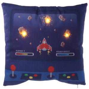 Decorative LED Cushion - Game Over Design