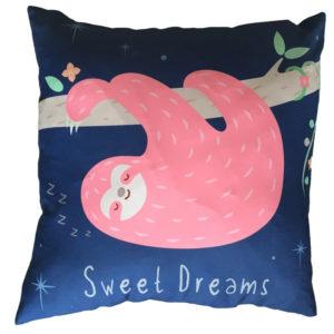 Decorative Sloth Sweet Dreams Cushion