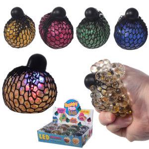 Fun Kids Squeezable LED Rainbow Net