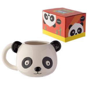 Ceramic Animal Shaped Head Mug - Panda
