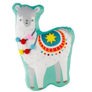 Fun Plush Llama Cushion