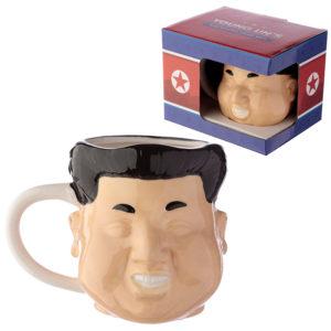 Novelty Ceramic Shaped Head Mug - Rocket Man