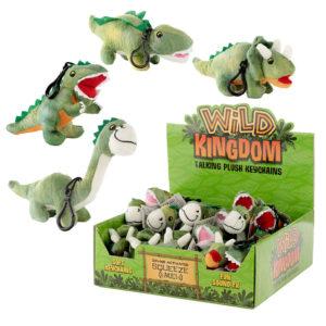 Plush Dinosaur Sound Keyring