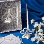 Interlocking Hearts Design Wedding Pen SetInterlocking Hearts Design Wedding Pen Set
