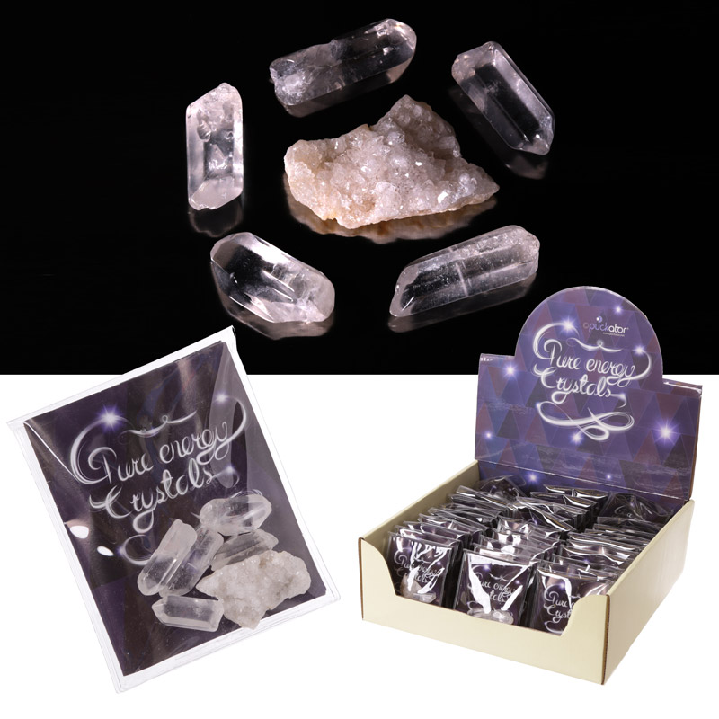 Collectable Energy Gemstones and Crystals