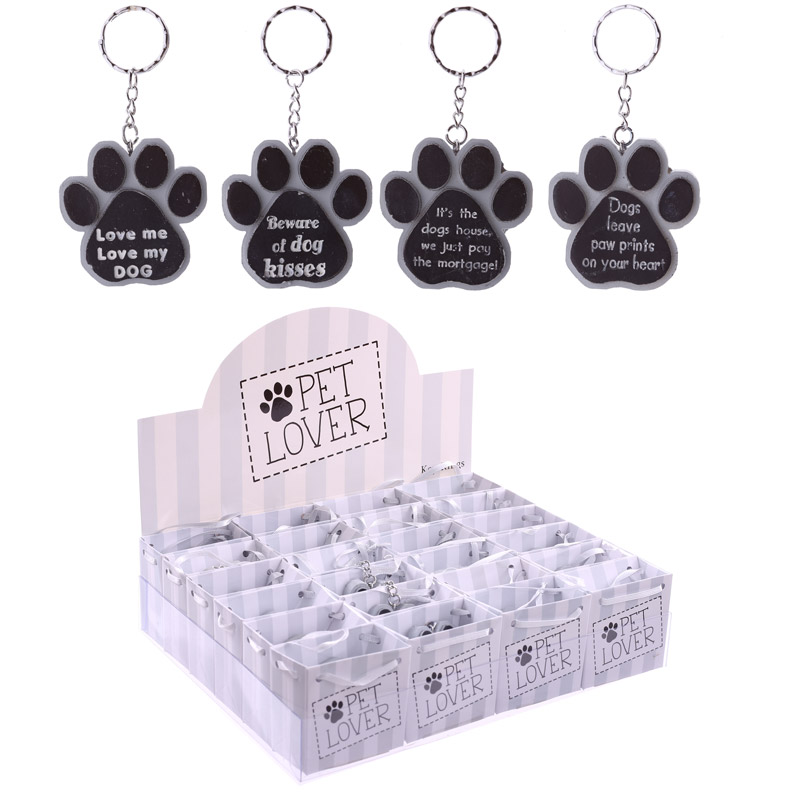 Collectable Pet Lover Gift - Keyring in Mini Gift Bag