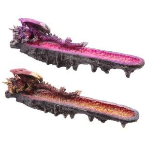 Crystal Geode Dark Legends Dragon Ashcatcher