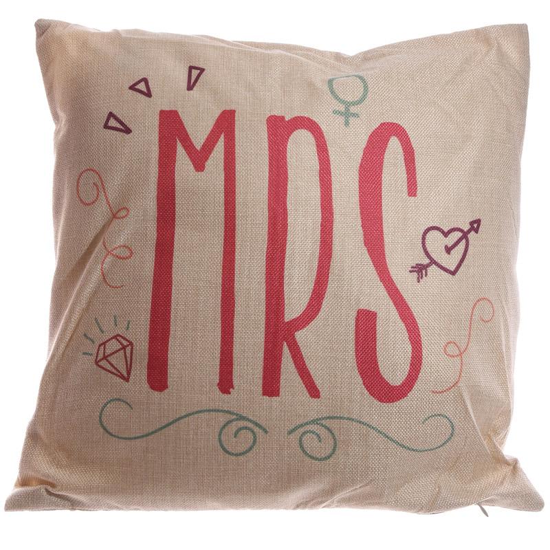 Cushion with Insert - MRS 43 x 43cm