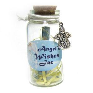 Cute Angel Mini Wishing Jar
