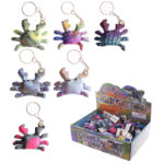 Cute Collectable Crab Design Sand Animal Keyring