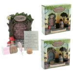 Cute Collectable Fairy – Wishes Jar Woodland Fairy Door