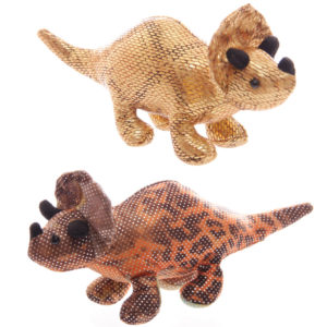 Cute Collectable Triceratops Design Sand Animal