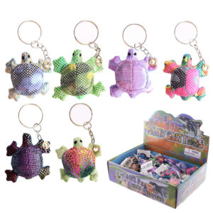 Cute Collectable Turtle Design Sand Animal Keyring