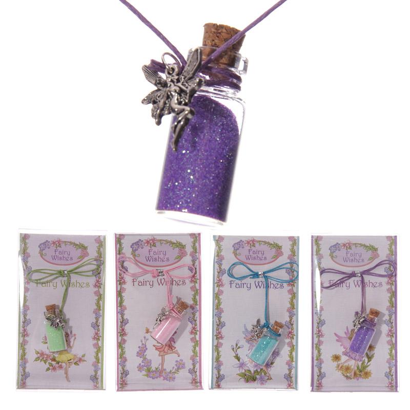 Cute Fairy Wishing Glitter Pendant