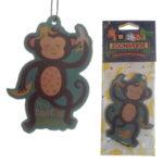 Cute Monkey Design Banana Scented Air Freshener