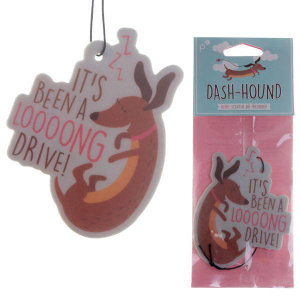 Cute Sausage Dog Design Berry Scented Air Freshener