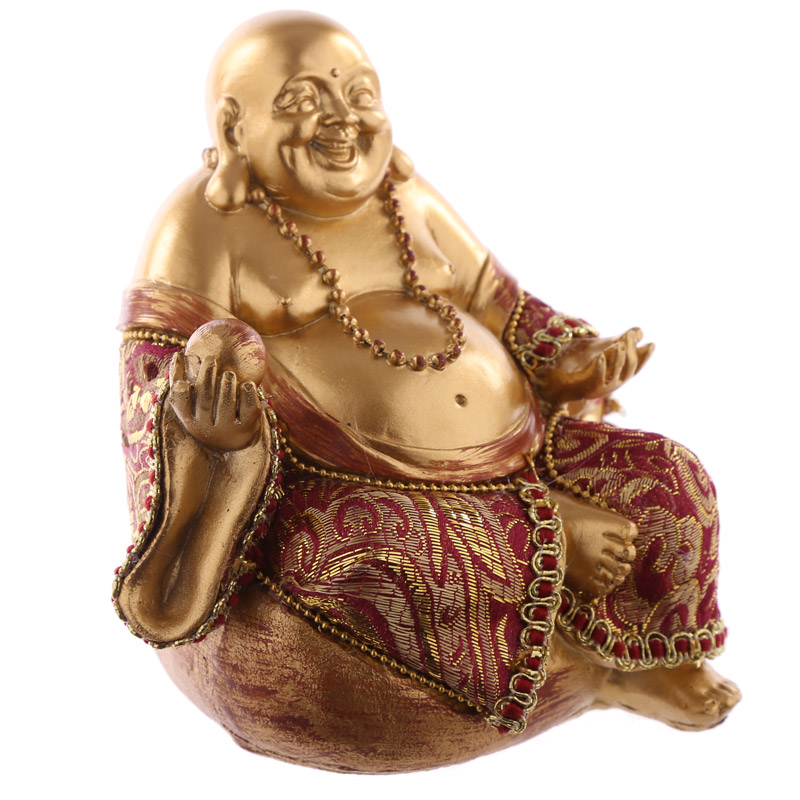 Decorative Chinese Buddha Figurine – Small